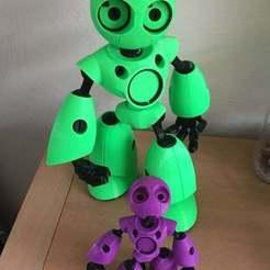 Descargar modelos 3D gratis robot, Ronniebravo