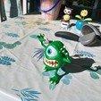 Télécharger fichier 3D gratuit Mike Wazowski(Université des monstres), PatrickFanart