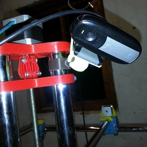 Download free 3D print files Webcam conduit mount for MPCNC