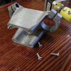Descargar modelo 3D gratis Tincho85's MPCNC Z Motor Mount - Tornillos de 10mm, pyromaniak