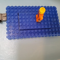 Descargar STL gratis placa de interruptor de pared de lego, mistook1jg