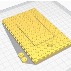 Download free STL lego wall switch plate, mistook1jg