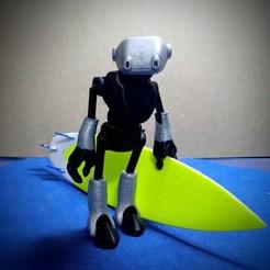 Download free 3D printing designs Ankly Robot - 3d Printed Assembled, nekorodrigues