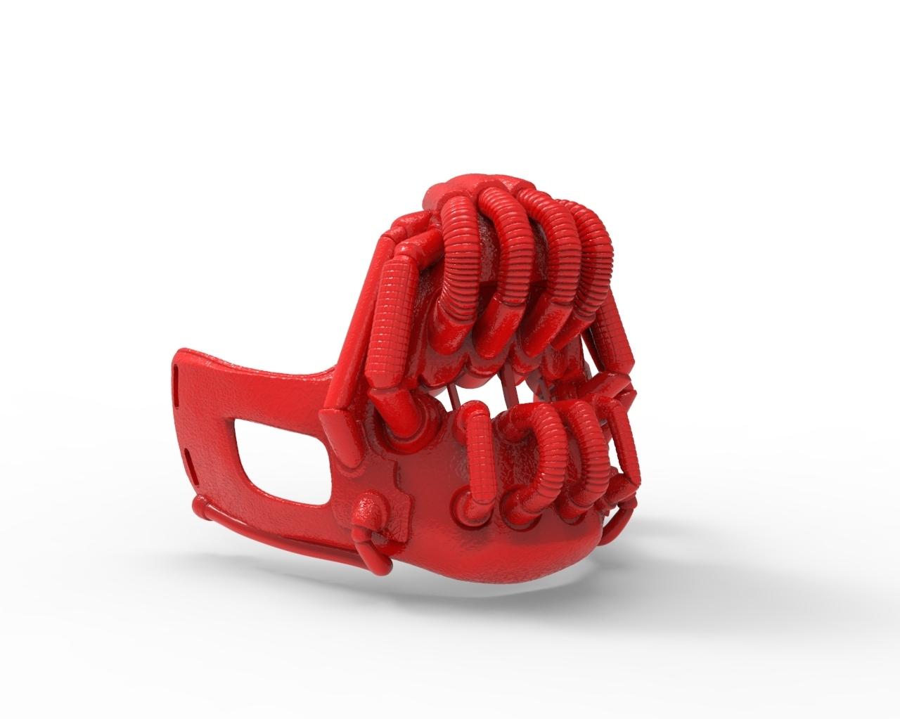 untitled.273.jpg Télécharger fichier STL gratuit MASK BANE BATMAN • Design pour imprimante 3D, CastleDesignChile