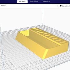 Download free 3D printer designs Desktop usb base, CastleDesignChile