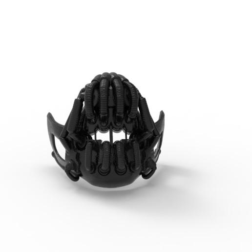untitled.272.jpg Télécharger fichier STL gratuit MASK BANE BATMAN • Design pour imprimante 3D, CastleDesignChile