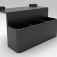 1.png Download free STL file remote control tv stand for bed • Object to 3D print, CastleDesignChile