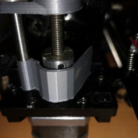 Télécharger fichier imprimante 3D gratuit protection coupleur gauche geeetech i3, aldo117