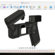 Download free STL file Phone Gun (Self-defense) Flodable 9mm single shot • 3D printing model, poodyfaisal