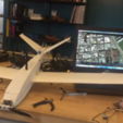 Download free STL files UAV/FPV 3D printed airplane.(drone), poodyfaisal