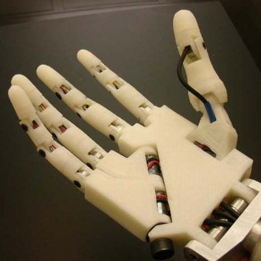 Download free 3D printing designs Hand robot , poodyfaisal