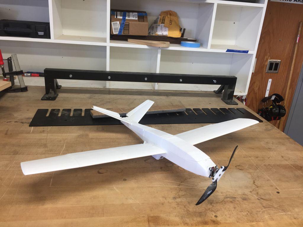 FLHW82OJ2UPKTPY.LARGE.jpg Download free STL file UAV/FPV 3D printed airplane.(drone) • Object to 3D print, poodyfaisal