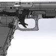 Download 3D printing files glock-17 full gun , poodyfaisal