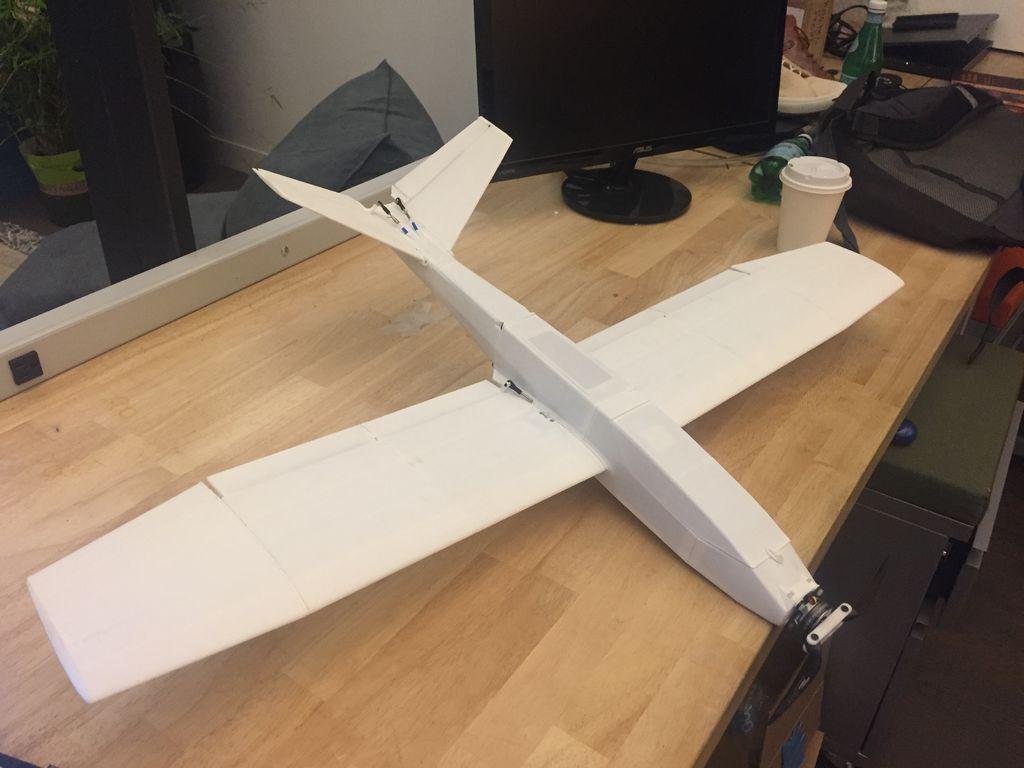 FDXMEWAJ2UPKTRQ.LARGE.jpg Download free STL file UAV/FPV 3D printed airplane.(drone) • Object to 3D print, poodyfaisal