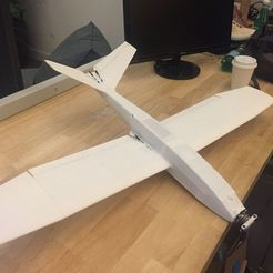 Download STL files UAV/FPV 3D printed airplane.(drone), poodyfaisal