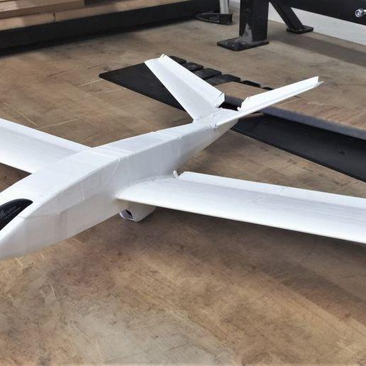 MT6TQZPEIYGUPYM5C62RBFRN2A.jpg Download free STL file UAV/FPV 3D printed airplane.(drone) • Object to 3D print, poodyfaisal