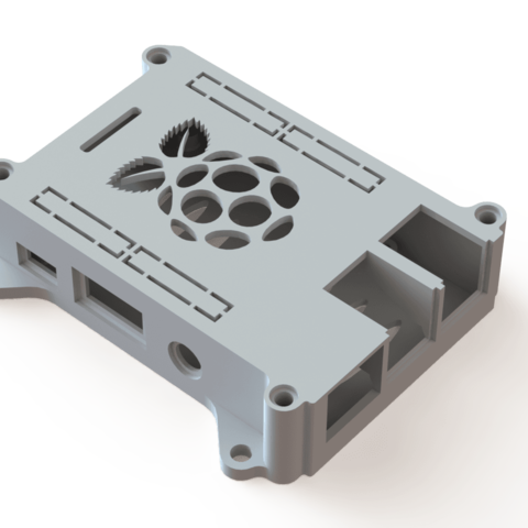 Raspberry_pi_case_1.png Download free STL file 3D-Printable Raspberry pi 3 case • 3D print object, SixtenssonDesign