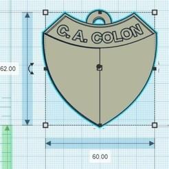Télécharger fichier impression 3D Pack 5 Porte-clés d'équipes argentines, gimenezyo12