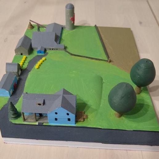 Télécharger modèle 3D gratuit Ferme familiale, westloki