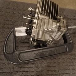 Download free 3D printing templates Valve spring compressor, westloki