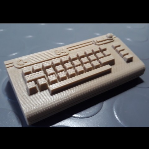 Download free OBJ file Commodore 64 Super Deformed • 3D printable design, MaxLab