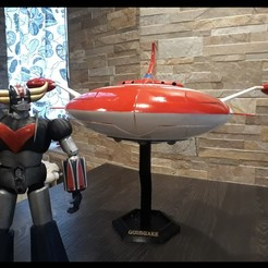 Download 3D printer designs Grendizer Spazer - MaxLab Version, MaxLab