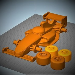 Download free 3D printer templates Cars2 Francesco Bernoulli, MaxLab