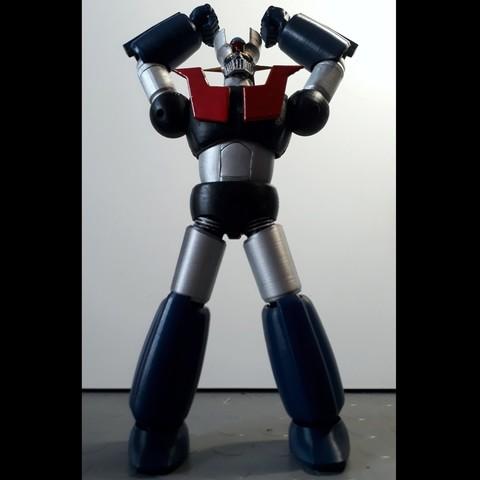 Download STL file Mazinger Z - MaxLab Version, MaxLab