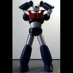 3D printer models Mazinger Z - MaxLab Version, MaxLab