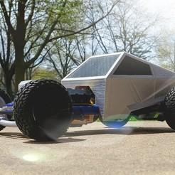 Download free 3D printer designs 1/10 Scale Hot Rod. Final., MAKEIT