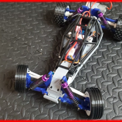RFRF11111.png Download free STL file 1/10 Scale RC Buggy (Chassis) • 3D printing design, MAKEIT