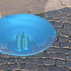 fleurs coupées .jpg Download free STL file Stem flower vase • Object to 3D print, jttassin