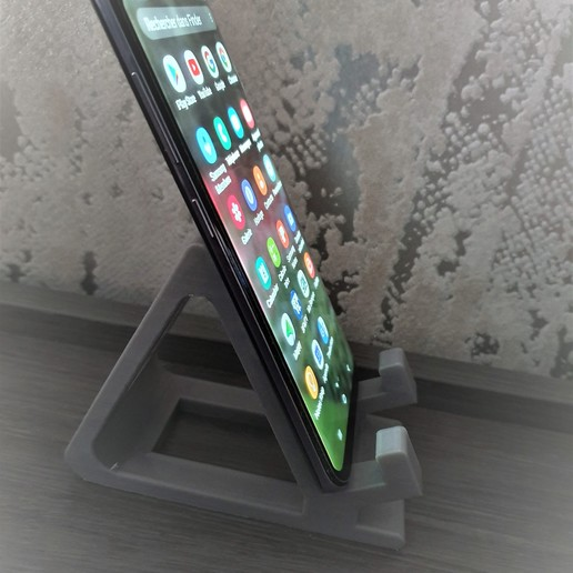 Télécharger fichier impression 3D gratuit Support téléphone mobile, jttassin