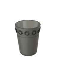 Download free STL file Toothbrush cup • Template to 3D print, jttassin