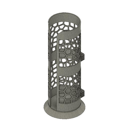 Distrib_Coton v2.png Download free STL file Cotton dispenser Make-up removal • Template to 3D print, jttassin