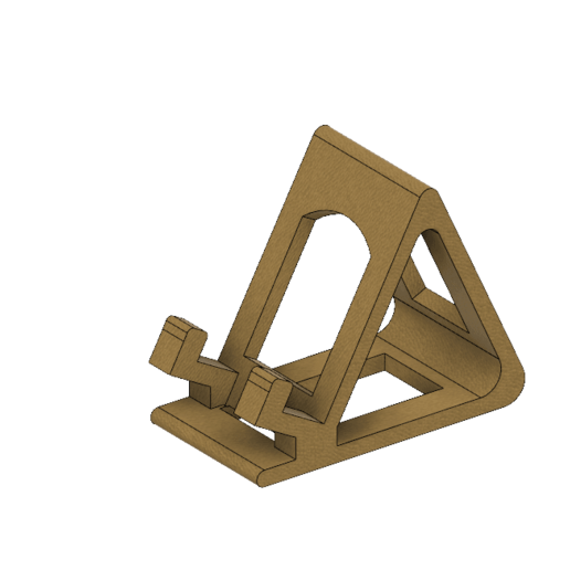 Support téléphone mobile.png Download free STL file Mobile phone support • Object to 3D print, jttassin