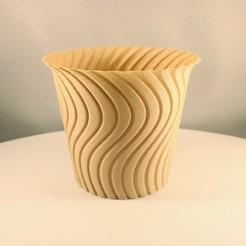 """20200817160724_IMG_5426-01 (1).jpeg Télécharger fichier STL Cactus Planter, impression """"Vase Mode • Design pour impression 3D, Slimprint"""