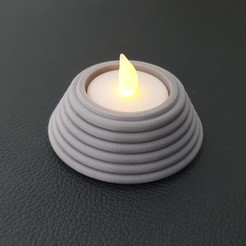 20200830_174252-01.jpeg Download STL file Volcano Tealight Holder  • 3D printing model, Slimprint