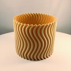 """20200801164317_IMG_1711-02.jpeg Download STL file Cylinder Planter - """"Vase Mode"""" print • 3D print template, Slimprint"""