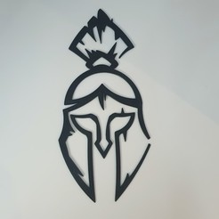 20200531_200931.jpg Download STL file Spartan Helm • 3D printer template, Slimprint