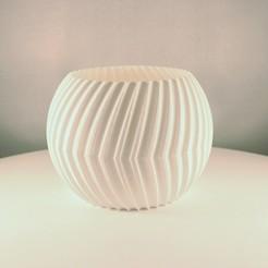 Sphere planter split 1.jpeg Download free STL file Sphere Planter Split - (Vase Mode) • Object to 3D print, Slimprint