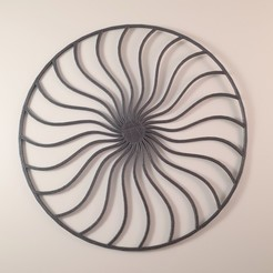 20200531_163303.jpg Download STL file 2D Spiral Frame • 3D printing template, Slimprint