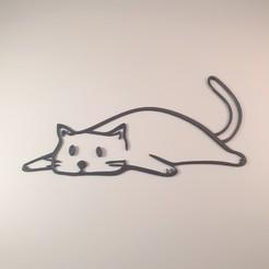 20200531_124901.jpg Download STL file Lazy Cat  • 3D print model, Slimprint