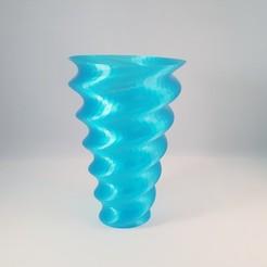 Télécharger objet 3D Vase organique ondulé (mode vase), Slimprint