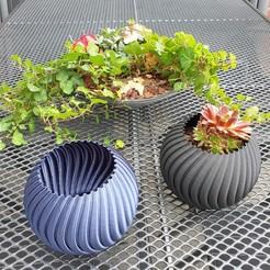 Impresiones 3D Plantador de Esferas - (Modo jarrón), Slimprint