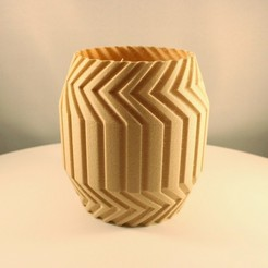 "20200817160624_IMG_5422-01.jpeg Download STL file Geometric Cactus Planter, ""Vase mode"" • Model to 3D print, Slimprint"
