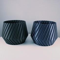 Télécharger fichier imprimante 3D gratuit Jardinière géométrique - Mode vase, Slimprint