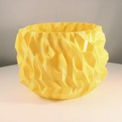 Download free 3D printing files Crystallised vase , Slimprint