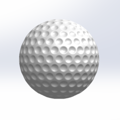 Free STL files Golf ball, blassyou