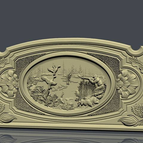 nardy4.jpg Download free STL file hunter frame cnc duck • 3D printing template, STLmodelforfree
